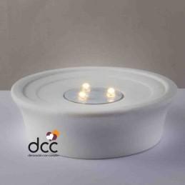 Base Dome-Light Led sin adorno