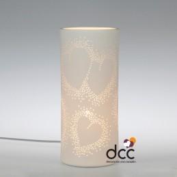 Lámpara Corazones