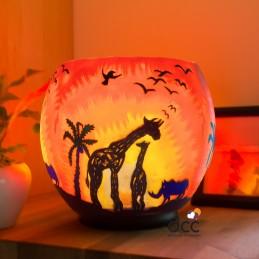 Lámpara Luminiscente Safari