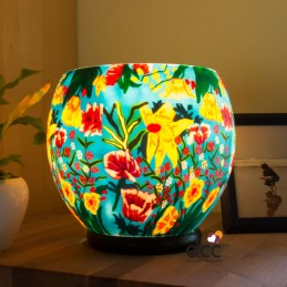 Lámpara Luminiscente Flores...