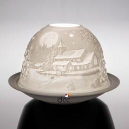 Dome Light Pueblo invernal*